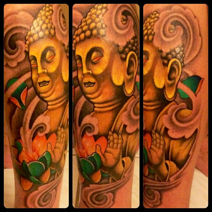 Pat Patterson West Palm Beach. http://www.tattoosbypat.com     Www.facebook.com/patstattoos    #tattoo #tattoos #tattooartist #buddha #buddhatattoo  #enlightened #ink #gotink #legtattoo #placement #legplacement #lovetattoos #artist #art #westpalmbeach #westpalm #floridatattoos #soflo #southfloridatattoos #southflorida #hot #colortattoo