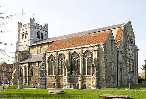 Waltham Abbey Church - Waltham Abbey (town) - Wikipedia, the free encyclopedia