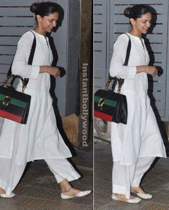 Deepika snapped in Bandra yesterday in a casual look! . #DeepikaPadukone #DeepikaUniverse