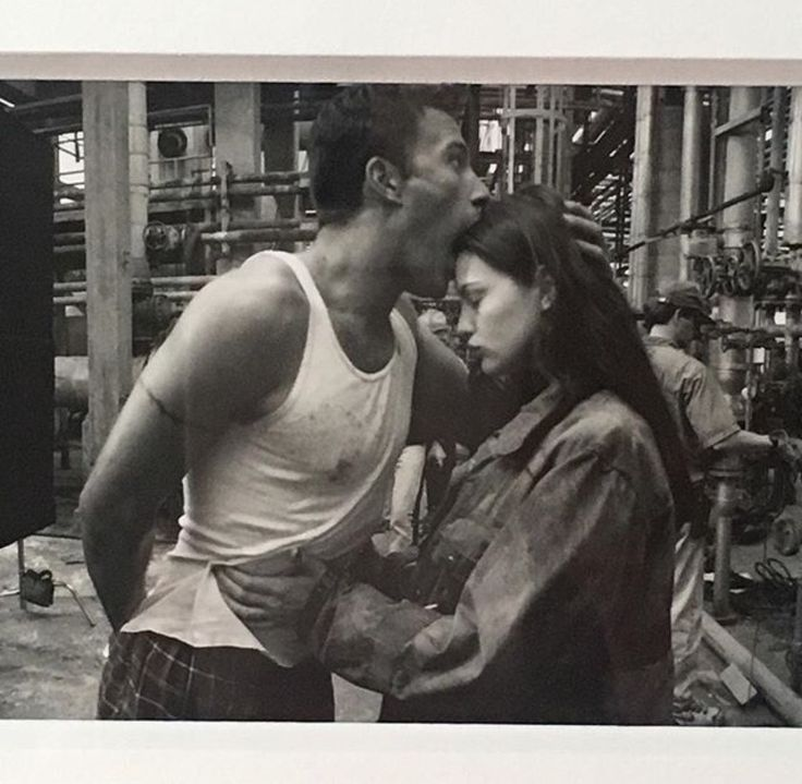 "sintras: "" Liv Tyler and Ben Affleck on the set of Armageddon circa. 1998 ✨ ""love this so muchhhh"