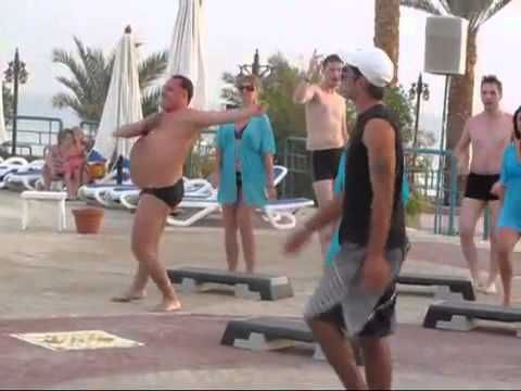 Sometimes You Gotta Dance Like Nobody's Watching. The man in the speedos is fabulous lol