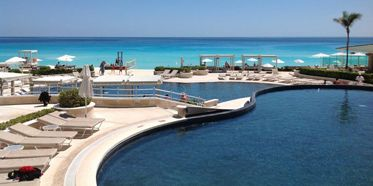 Formerly Le' Meridian Sandos Cancun Luxury Experience Resort Pool View