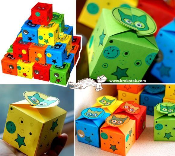 Упаковка подарка для детей своими руками