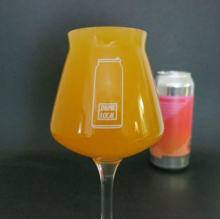Tropical Cream Pop by Bolero Snort Brewery  These stemmed beer glasses are a great gift for him, or any craft beer lover.  Drink From A Beer Glass That Matches Your Style!  The Drink Local Teku beer vessels are specifically designed for craft beer and are a great glass for IPA and hop-forward beer styles. Our Drink Local craft beer glasses are capable of accommodating up to 11.2 ounces of beer from your favorite craft brewery.