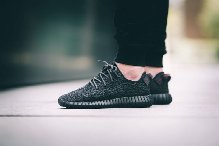 Find out all the latest information on the adidas Yeezy 350 Boost Black, including release dates, prices and where to cop.