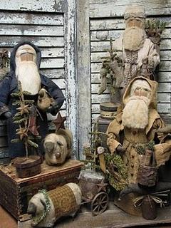 Gorgeous Santa's!Vintage Santa