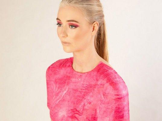 Samantha Murray, Wellington, New Zealand, Massey University, eco-fashion, sustainable fashion, green fashion, ethical fashion, sustainable s… (fruit dress material ideas)