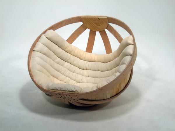 Omg its like the improved version of a Papasan chair turned into a cradle for grownups! I need it.     Designer Inspiration: 3 New Creative Pieces in Design