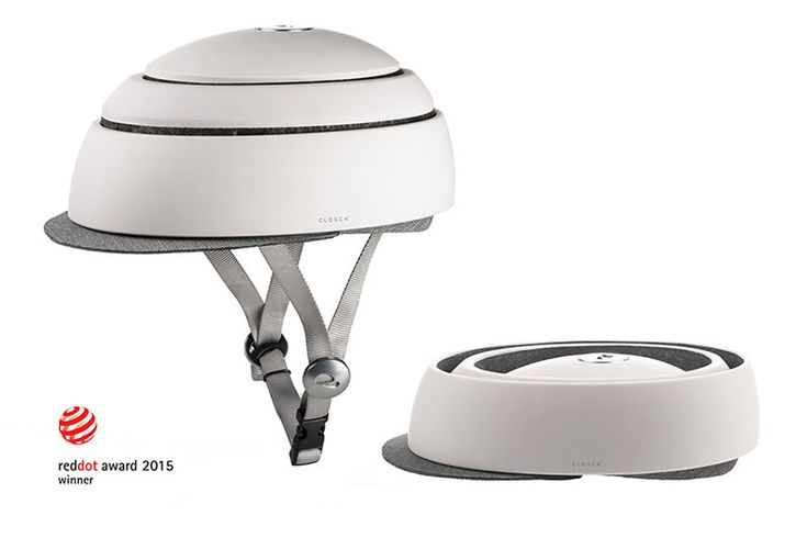 Closca Fuga folding helmet- winner of a Red Dot Design Award 2015