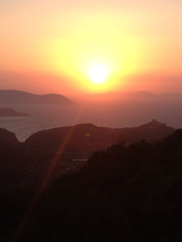 Sunset at Kretinia