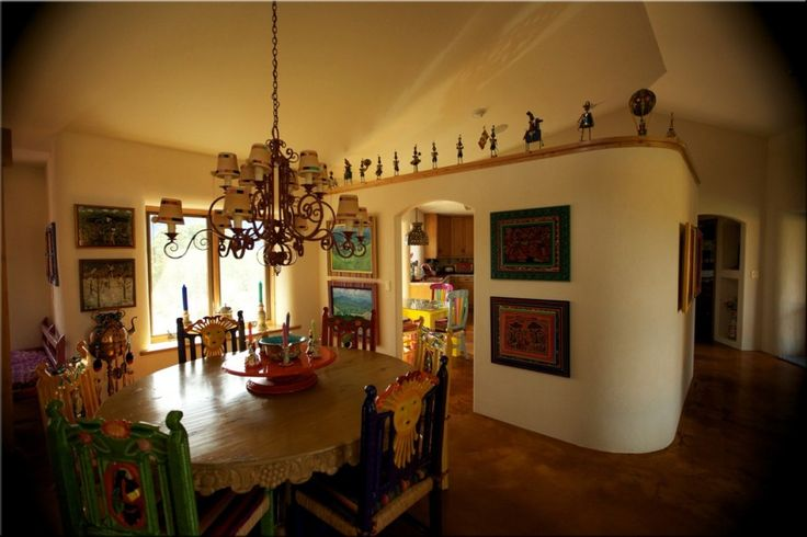 beautiful straw bale house   interior of home strawbale