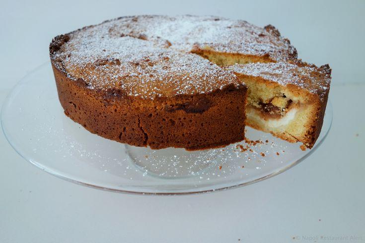 Fig jam and ricotta torta