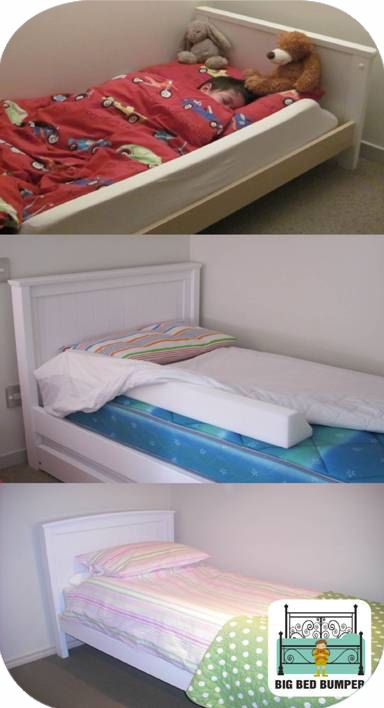 alternative to a traditional bed rail :)
