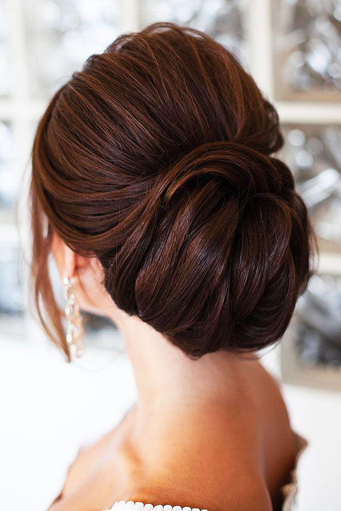 Best 25+ Wedding low buns ideas on Pinterest | Chignon ...