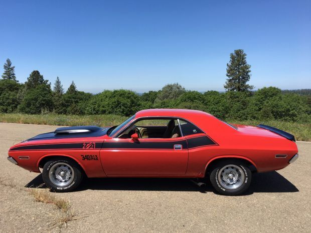 1970 Dodge Challenger T A 340 Six Pack 4 Speed Dodge Challenger