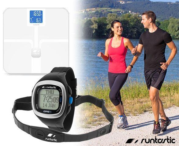 Alleen Vandaag - Runtastic GPS Horloge of Smart weegschaal - Hoge Korting - Hou Onderweg en Thuis Je Gewicht Goed In De Gaten - Deel en Lees Reviews