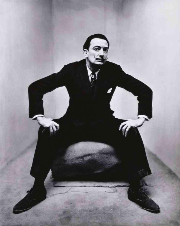 Salvador Dali by Irving Penn