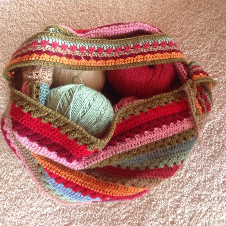 My Bendigo Wool Bag in use