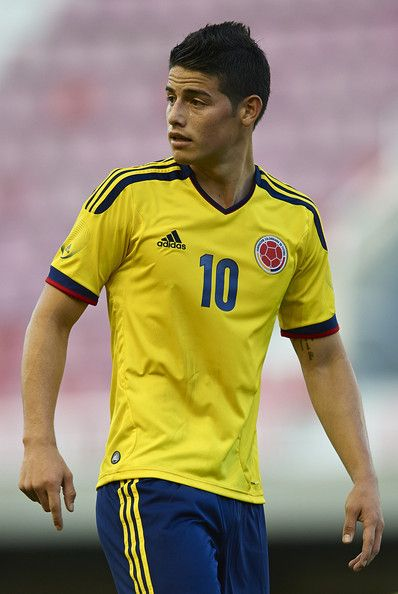 James Rodriguez. Cute soccer player. And darn it he's only 22 but he's married and has a kid.