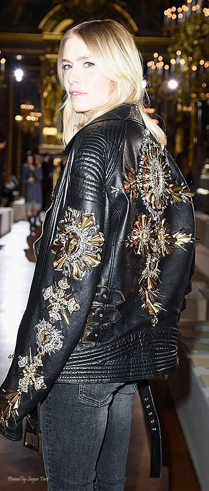 Paris Fashion Week - Street Style - Elena Perminova
