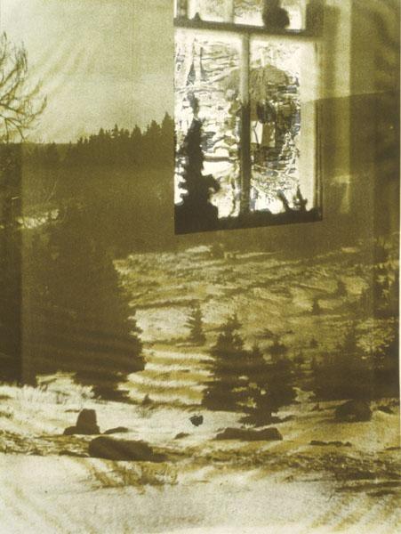 "Winter Window Heidi Oberheide Эмили Дикинсон ""Как путник, ветер постучал..."""