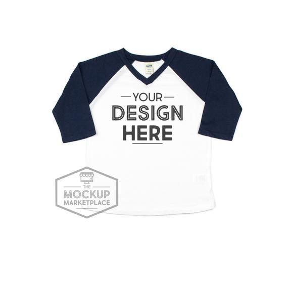 Download Download Free Kavio Vneck Raglan Mockup White With Navy Blue Sleeve Psd Free Psd Mockups Mockup Free Psd Shirt Mockup Free Psd Mockups Templates