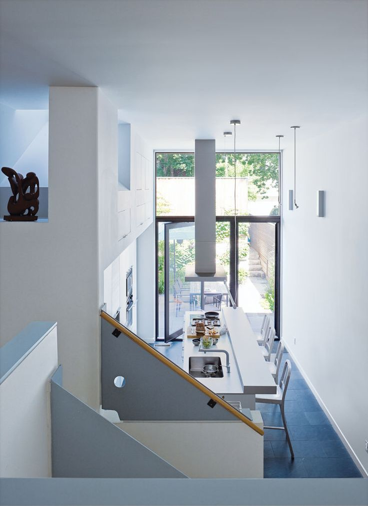 Dwell   Narrow Modernist Three Story Home In Toronto