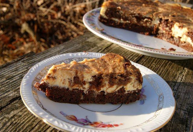 Ciasto czekoladowe z masą serową, bez glutenu