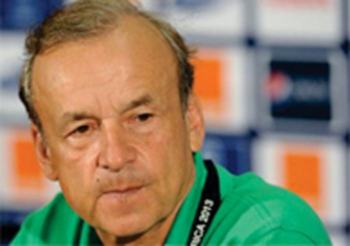 LOL: Nigerian Players Lie About Their Ages  Super Eagles Coach Gernot Rohr