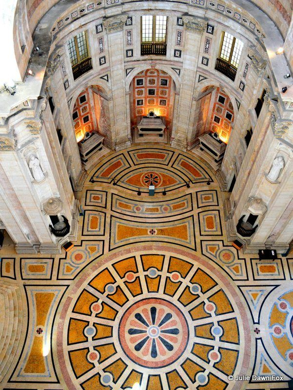 National Pantheon, Lisbon, Portugal by Julie Dawn Fox