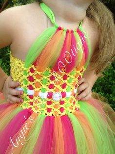 Woven Bodice Tutu Dress with Belt and by AngiesTutuBootique, $45.00