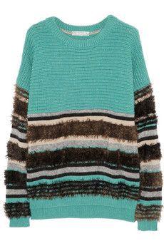 Dagmar Liv merino wool-blend sweater #fashion @Annette Howard Nokes-A-PORTER Group LTD IT Careers