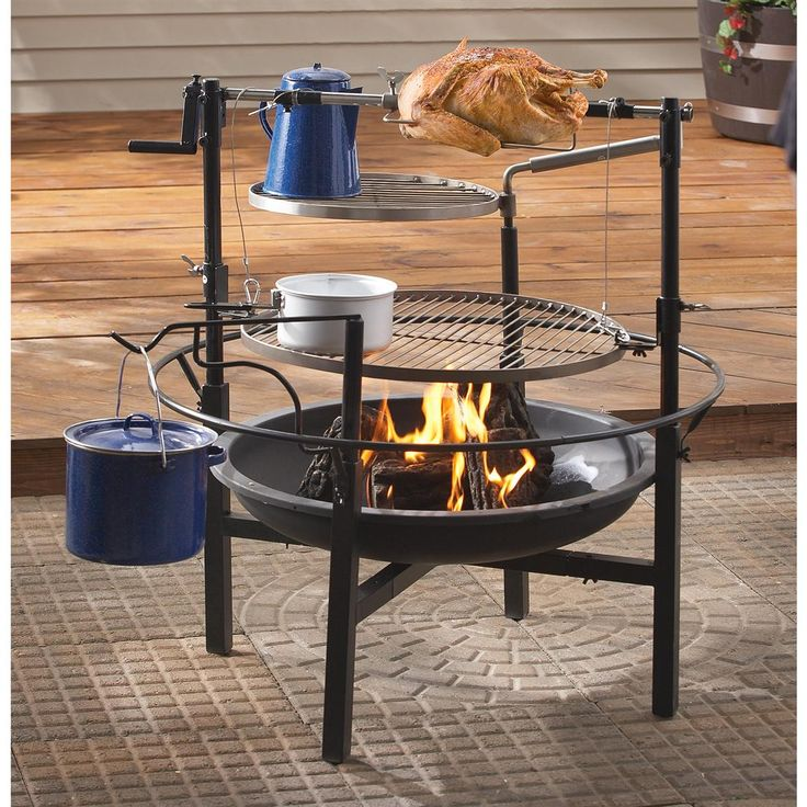 Guide Gear Campfire Cooking Station - 527450, Utensils Cookware at Sportsman's Guide