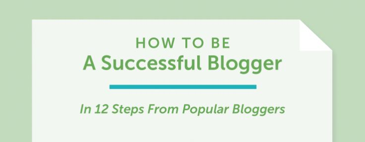 Being a Successful Blogger header graphic
