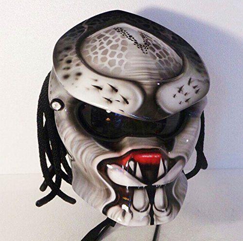 The Predator Helmet for Bikers Style by PREDATORHELMET15 on Etsy