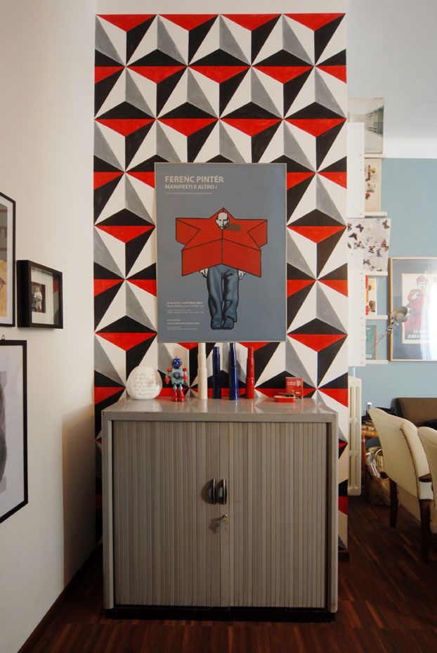 lorena masdea ristrutturazione low cost appartamento vintage milano ingresso 1