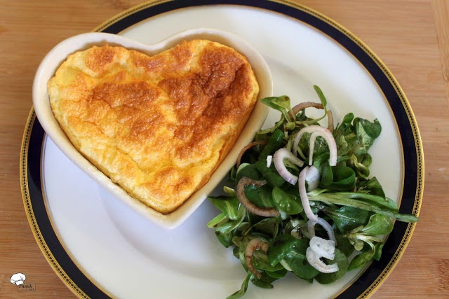 Thank you for eating.: Käse-Soufflé