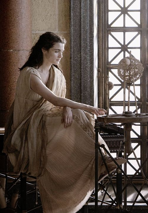 Hypatia-- great scholar of Alexandria. philosopher, mystic, mathematician (groundbreaking work in development of algebra), astronomer, credited with the astrolabe. violently murdered, flayed alive by mob of 'Christians' as she was suspected of witchcraft (a woman in a position of power).