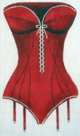 cross stitch pattern lovely for an underwear bag
