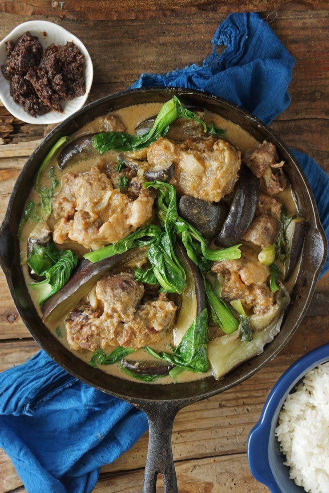 i should learn how to make this | slow-cooked kare kare from scratch | theskinnypot.com