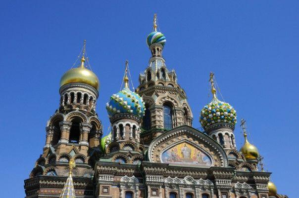 Uppståndelsekyrkan, Sankt Petersburg, Ryssland