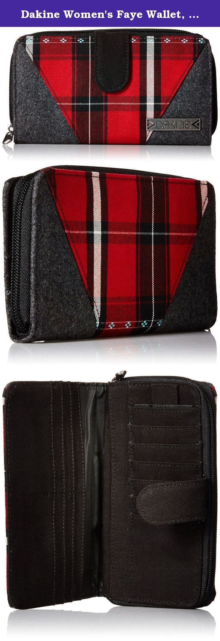 Dakine Women's Faye Wallet, Sedona. Dakine women's wallet - in Hawaiian slang, Da Kine means the best and the company has lived up to this standard through attention to detail, focus on accessories and a notoriously thorough design process.