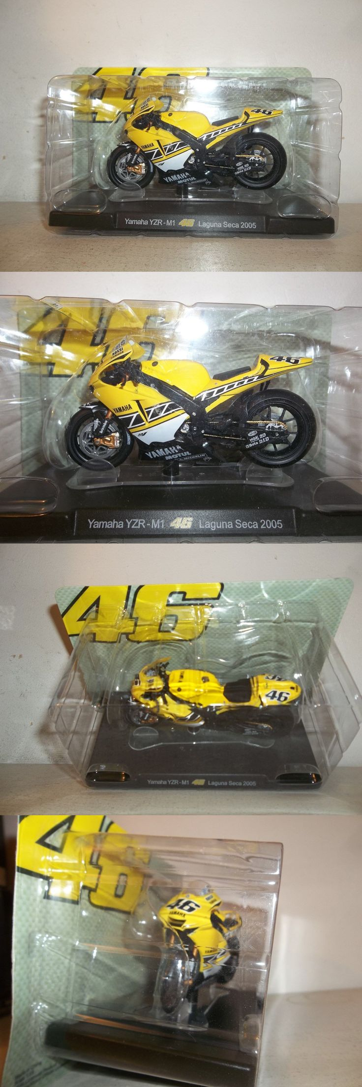 Contemporary Manufacture 45348: New 1 18 Scale #46 Valentino Rossi 2005 Laguna Seca Team Yamaha Yzr-M1 Moto Gp -> BUY IT NOW ONLY: $34.99 on eBay!
