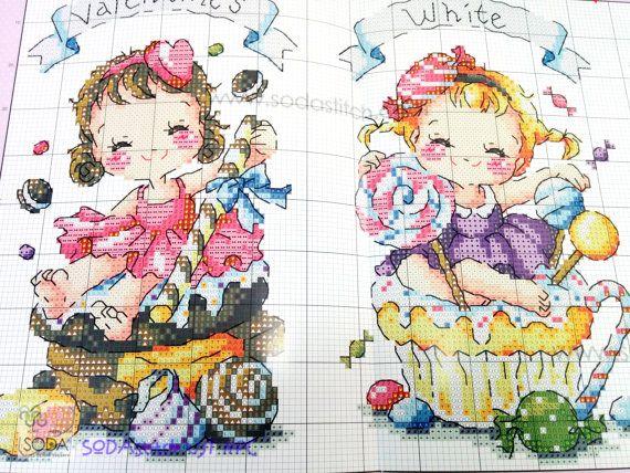 Special Day Cross stitch pattern book. Big by GeniesCrossstitch