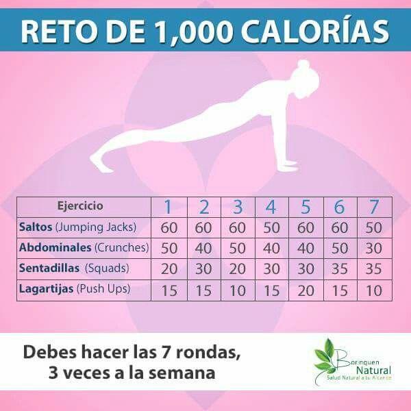 Quemar 600 calorias en casa