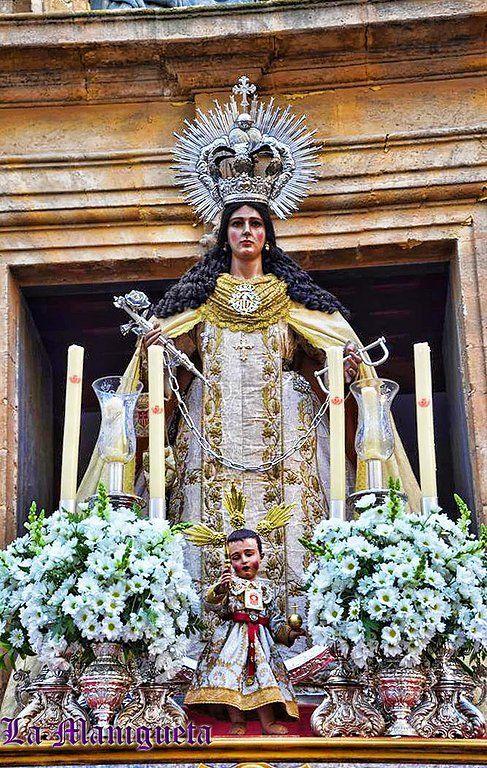 "ROSARIO VESPERTINO DE LA SANTÍSIMA VIRGEN DE LA MERCED DE CÁDIZ. - Semana Santa y Hermandades. Web ""La Manigueta""."