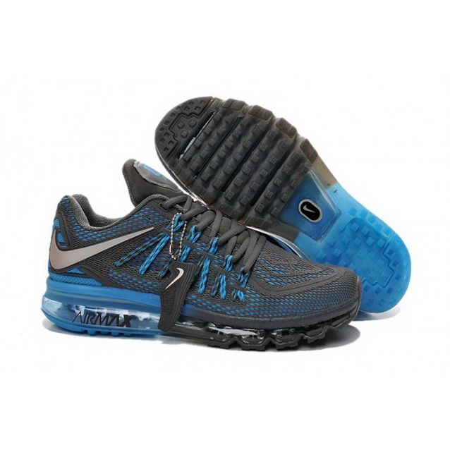 new style e9769 7f8d5 top quality official mens nike air max 2015 shoes charcoalgray blue 16b5d  53c37 4c1ca 715cf