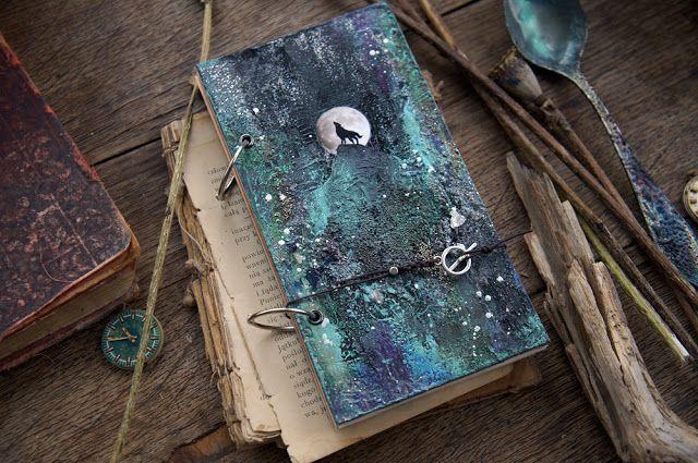Handmade by Smilla: Лунные блокнотики