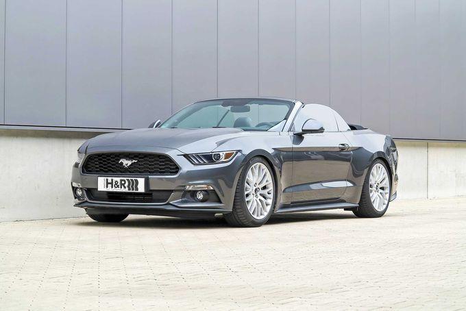 Anzeige: H&R Gewindefahrwerk fürs Mustang Cabrio
