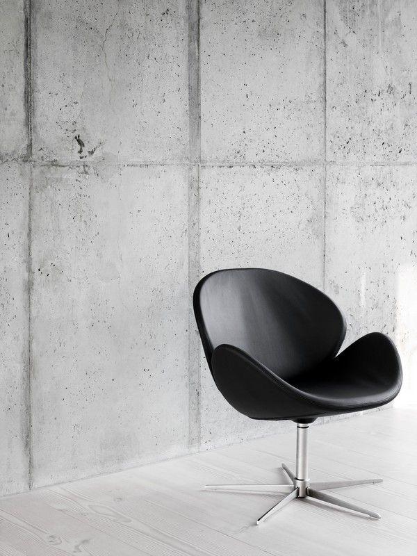 Ogi - black designer armchair Sydney